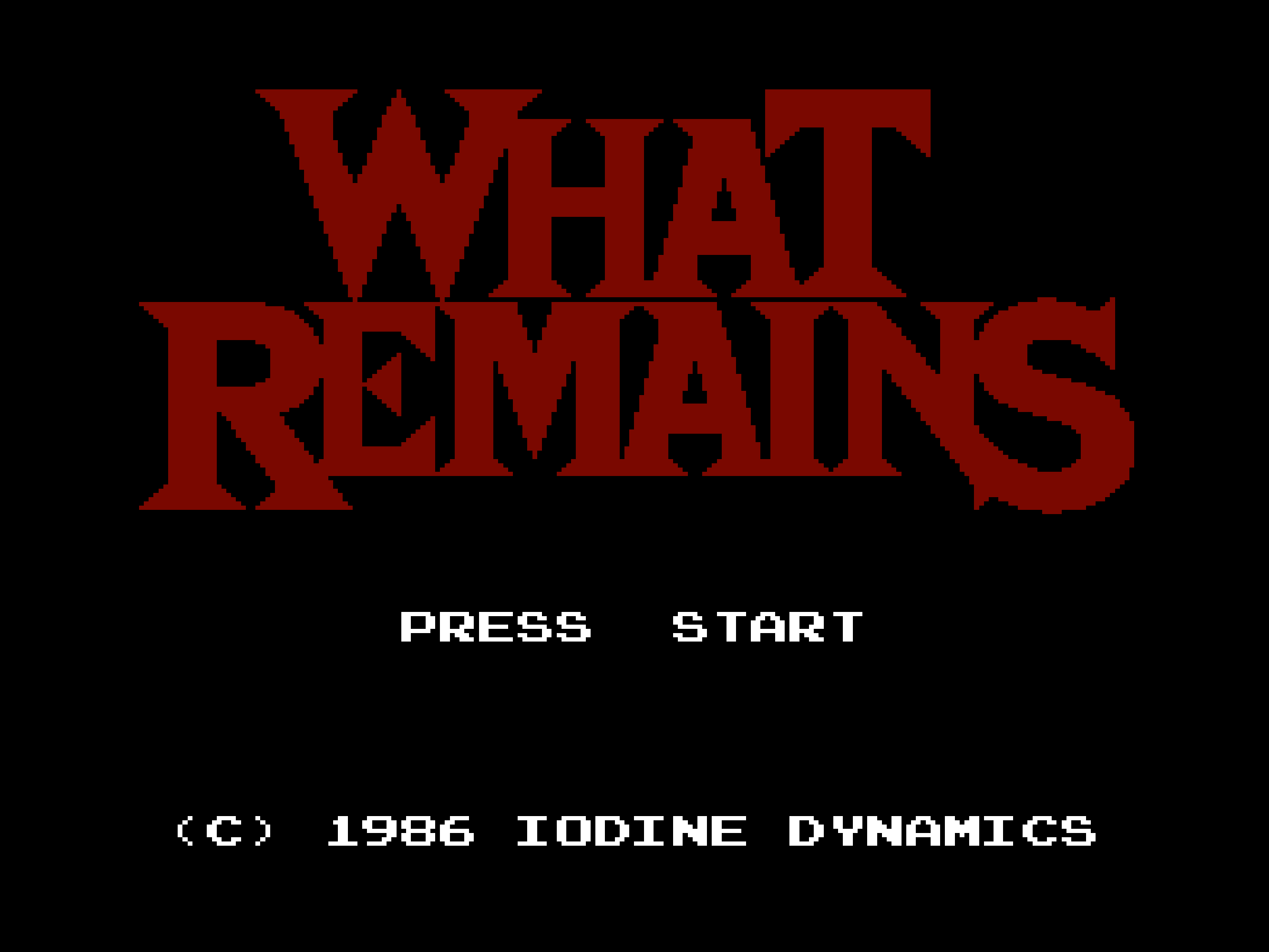 What Remains screenshot 1